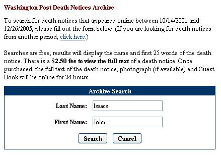 Help writing a death announcement
