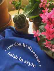 "Madeira School Motto ""Function in Disaster, Finish in Style"""