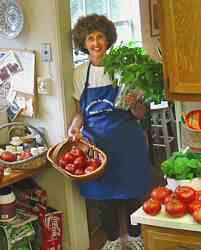 Robin Nelson - saving the tomato crop from Hurricane Isabel