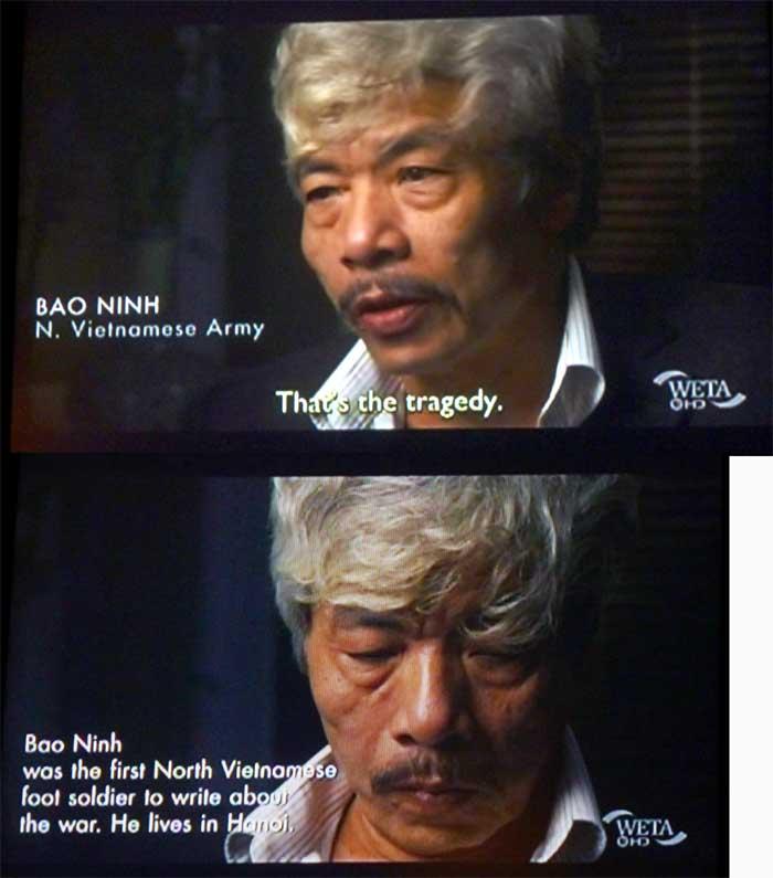 The sorrow of war bao ninh